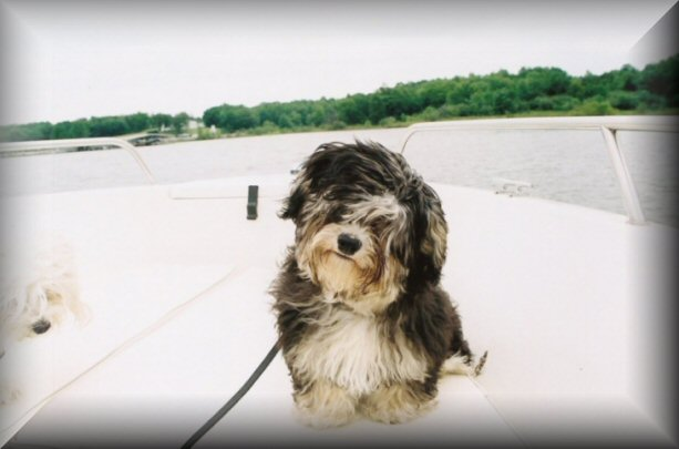 My first boat ride!